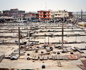 © Julian Roeder, Generators on roofs of Oshodi Market, Lagos, Nigeria. Honorable Mention, LensCulture International Exposure Awards 2010