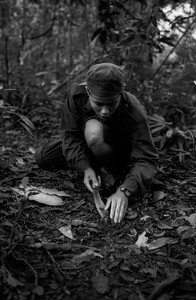 © Sarbil Olivier (Thailand) Planting land mines around the base camp of the KNLA (Karen National Liberation Army), Burma. Honorable Mention, LensCulture Exposure Awards 2009