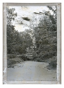 Untitled Pfaueninsel 2, 176 x 127 cm, Silver Gelatin Print, Mixed Media © Jeff Cowen