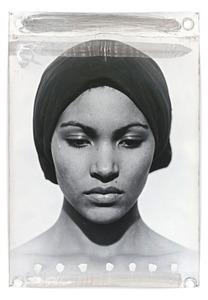 Sophia, 2007, 184 x 127 cm, Silver Gelatin Print, Mixed Media © Jeff Cowen