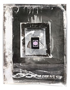 Untitled Berlin X, 2012, 155 x 127 cm, Silver Gelatin Print, Mixed Media © Jeff Cowen