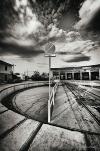 slow down sign © Christos Tolis