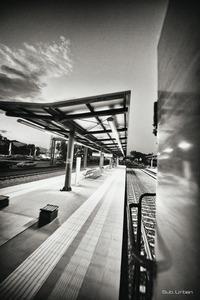 suburban line station © Christos Tolis