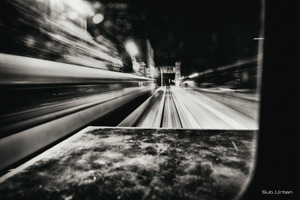 passenger train drive-by © Christos Tolis