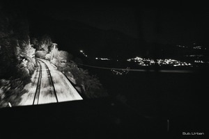 city lights far away © Christos Tolis