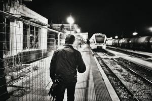 back to work © Christos Tolis
