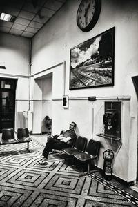 asleep at the lobby © Christos Tolis