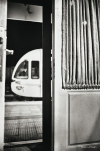 old door, modern train © Christos Tolis