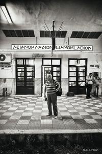 where is my train? © Christos Tolis
