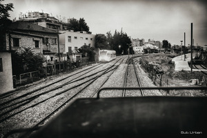 early trains leave Athens © Christos Tolis