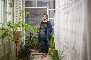 Maya Khaldi is a Palestinian musician and singer. Maya is singing with several groups and has performed numerous Jazz-fusion gigs with Palestinian musicians. Maya also teaches music theory, early childhood music education and conducts three choirs at The Edward Said National Conservatory of Music. © David Brunetti