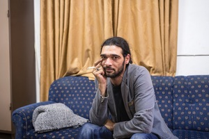 Ihab Zahdeh is a professional actor and director from Hebron. A passionate theatre actor, he works with several ensembles across the West Bank, including the Ashtar Theatre, and has performed at the Globe in London. He is also the co-founder of Yes Theatre (Masra7 Na'am) in Hebron where  he teaches children and young adults. © David Brunetti