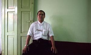 Meiktila, Myanmar, 2013. A senior 969 activist. © Spike Johnson