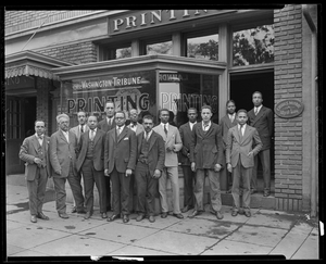 Murray Brothers Printing Company, 1925 Courtesy of the Archives Center, National Museum of American History, Smithsonian Institution © scurlock