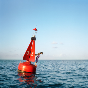The Channel Marker, Self Portrait. Eastern Shipping Lanes, Bermuda, 2004. © Cig Harvey.