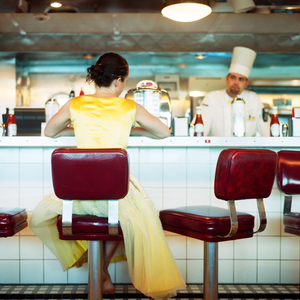 The Diner, Self Portrait. Miami, Florida, 2005. © Cig Harvey.