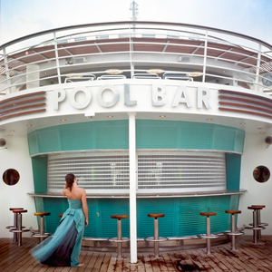 Pool Bar, Self Portrait. Miami, Florida, 2005. © Cig Harvey.