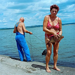 "From the series ""Life in Blue"" © Evzen Sobek"