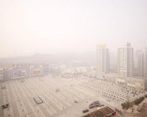 Shopping Mall, Beibin road, Chongqing 2008. © Ferit Kuyas.