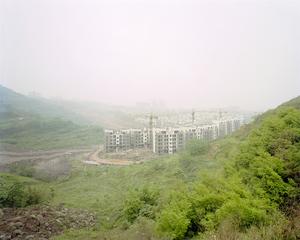 Construction Site, Jingkai District, Chongqing 2006. © Ferit Kuyas.