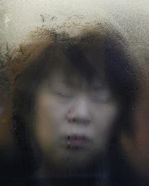 "From the book and series, ""Tokyo Compression"" © Michael Wolf"