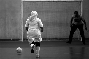 A nuns' soccer game in Brazil. © Eliaria Andrade