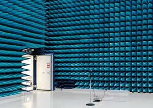 Anechoic Chamber, European Space Research and Technology Centre [ESTEC], Noordwijk, The Netherlands, 2008 © Vincent Fournier