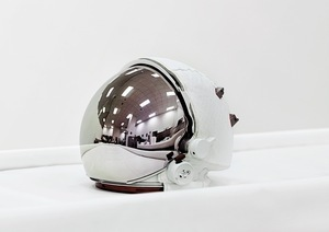 Space Helmet, Extravehicular Visor Assembly, John F. Kennedy Space Center [NASA], Florida, U.S.A., 2011 © Vincent Fournier