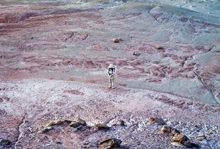 Mars Desert Research Station #5 [MDRS], Mars Society, San Rafael Swell, Utah, USA, 2008 © Vincent Fournier