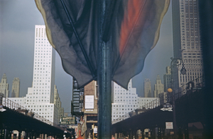 New York Reflection. © Ernst Haas, 1952.