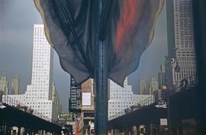 New York Reflection. © Ernst Haas, 1952.