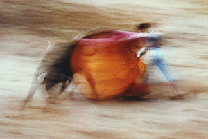 Bullfight, Pamplona Spain 1956. © Ernst Haas, 1970's.