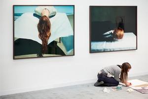 Charlotte Lund, Armory Show 2011  Artist: Denise Grunstein © Andy Freeberg
