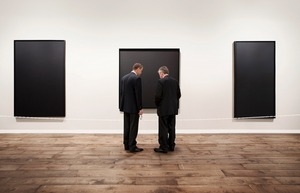 Marlborough, Art Basel 2010  Artist: Ad Reinhardt     © Andy Freeberg