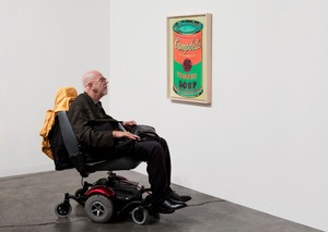 Gagosian, Art Basel Miami Beach 2009  Artists: Chuck Close and Andy Warhol  © Andy Freeberg