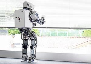 Kobian Robot #1 [Takanishi Laboratory], Waseda University, Tokyo, Japan, 2010.