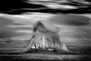 Shiprock Storm, Navajo Nation, New Mexico, 2008, © Mitch Dobrowner