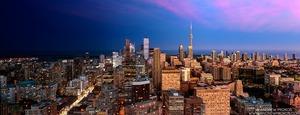 Night & Day - Toronto Cityscape - © Andrew Prokos - http://andrewprokos.com