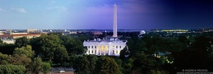 Night & Day - White House and National Mall #1 - © Andrew Prokos - http://andrewprokos.com