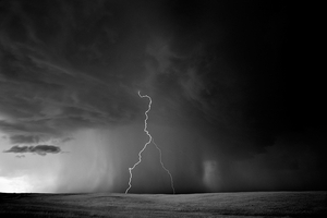 Lightning Storm, Davidson, Wyoming, 2009, © Mitch Dobrowner
