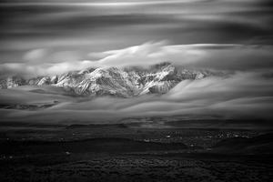 Winter Storm, Black Rock Hills, Utah, 2010, © Mitch Dobrowner