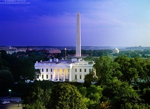 Night & Day - White House and National Mall #2 - © Andrew Prokos - http://andrewprokos.com