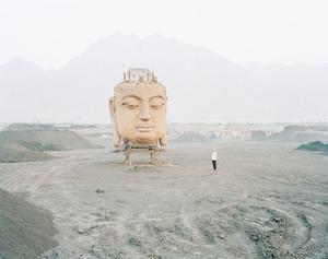 Buddha in Coal Yard, Ningxia Province © Kechun Zhang. Recipient of the Prix découverte