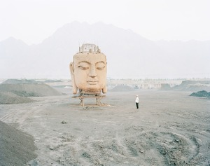Buddha in Coal Yard, Ningxia Province © Kechun Zhang. Recipient of the Prix découverte