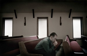 Cody Merill, Hungry Horse Church, Montana © Pieter Ten Hoopen. Recipient of the Prix découverte