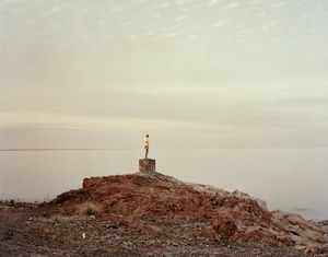 Priozersk XIV (I was told there was a time where she held an oar), Kazakhstan © Nadav Kander, part of the Prix Pictet retrospective