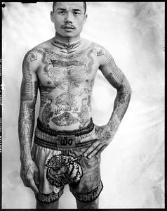 Yantra: Muay Thai boxer, Bangkok © Cedric Arnold