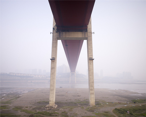 Egongyan Bridge, Changjiang River, Chongqing 2008. © Ferit Kuyas.
