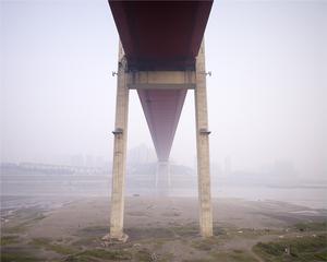 Egongyan Bridge, Changjiang River, Chongqing 2008. © Ferit Kuyas.