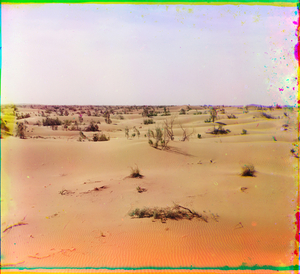 "Dunes, Turkestan, between 1905 and 1915 © Sergei Mikhailovich Prokudin-Gorskii, from the book ""Nostalgia"". Images courtesy US Library of Congress and Gestalten publishers, Berlin."